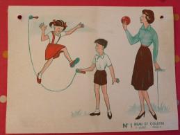 Rémi Et Colette. 27 Planches Pédagogiques 30x40 Recto-verso (54 Images). Vers 1960 + Carton - Books, Magazines, Comics