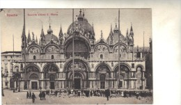 Italie - Cpa - VENICE - Façade De L'église St Marc - Venezia