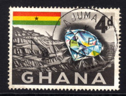 GHANA 1959 - Mineralien Diamant - Mineralien