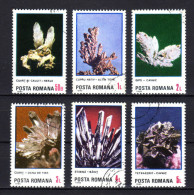 RUMÄNIEN 1985 - Mineralien - Kompletter Satz - Mineralien