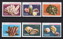MOCAMBIQUE 1979 ** Mineralien - Kompletter Satz MNH - Mineralien