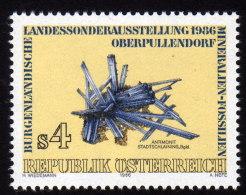 ÖSTERREICH 1986 ** Mineralien Antimonit - MNH - Mineralien