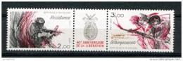 FRANCE 1984 / YT 2313A -   40° ANNIVERSAIRE DE LA LIBERATION Triptyque Neuf** - Neufs