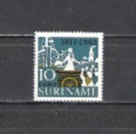 Suriname 1963 Geschichte Unabhängigkeit Niederlande Holland Prinz Oranien Landung Scheveningen, Mi. 440 ** - Suriname