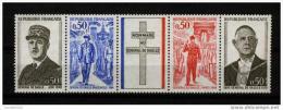 FRANCE 1971 / YT 1698A  ANNIVERSAIRE DE LA MORT DE DE GAULLE Bande Neuve** - Neufs