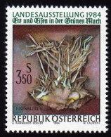 ÖSTERREICH 1984 ** Mineralien Eisenblüten - MNH - Mineralien