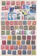 Suède - Sweden - Sverige- Lot Of 3 Pages Of Stamps (see Scans) - Suède