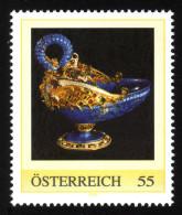 ÖSTERREICH 2008 ** Drachenschale Aus Lapislazuli Um 1580 - PM Personalized Stamp MNH - Mineralien