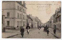 S1394 @ 95 @ PONTOISE @ BELLE CPA : LE HAUT DE LA RUE DE GISORS @ A VOIR !!! - France