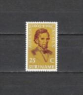 Suriname 1965 Geschichte Persönlichkeiten Politiker Präsidenten Abraham Lincoln Sklaverei USA Amerika, Mi. 459 ** - Suriname