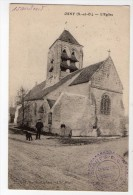 S1398 @ 95 @ OSNY @ BELLE CPA : EGLISE @ A VOIR !!! - Osny