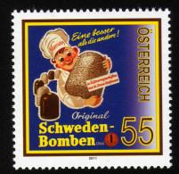 ÖSTERREICH 2011 ** Niemetz Schwedenbomben - MNH - Ernährung