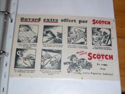 BUVARD Publicitaire Scotch Ruban Adhésif SCOTCH En Vente Chez Votre Papetier Habituel - Papeterie