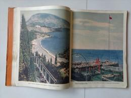 Ukraine Soviet Union photo book Views of the Crimea Moscow 1956