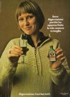 # JAGERMEISTER 1960s Advert Pubblicità Publicitè Reklame Food Drink Liquor Liquore Liqueur Licor Alcohol Bebidas - Manifesti