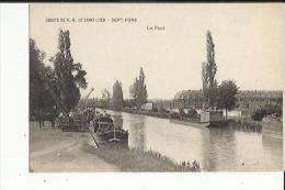 Sept-Fons  03   Abbaye N  D  De Saint- Lieu -Le Port Animé-Berrichon En Dechargement - France