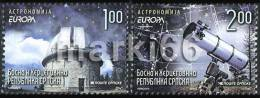 Bosnia & Herzegovina - Republika Srpska - 2009 - Europa CEPT, Astronomy - Mint Stamp Set - Bosnia And Herzegovina