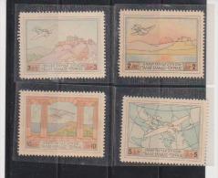 Greece 1926 Airmail Patakonia Flaying Boat. (Air Post) Scott C1-4 MNH. Catalogue $80.00 - Airmail