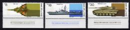 ISRAEL 1983 ** Rüstungsindustrie / Jagdflugzeug, Raketenschnellboot, Kampfpanzer - Kompl. Satz MNH - Militaria