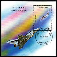 TANSANIA 1993 - Militär Jagdflugzeug - Block 226 - Militaria