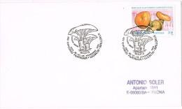 13948. Carta Exposicion  LLOSETA (Mallorca) Baleares 1993. Bolets, Champignons, Setas - 1931-Hoy: 2ª República - ... Juan Carlos I