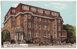 Ullswater Hotel, West Cliff, Bournemouth, England / UK C1964 Vintage Art Postcard [8708] - Bournemouth (until 1972)
