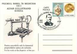522 Allvar Gullstrand, Prix Nobel De Physiologie Ou Médecine 1911. Ophtalmologie Optique. Physics Optics Eye Einstein(!) - Médecine
