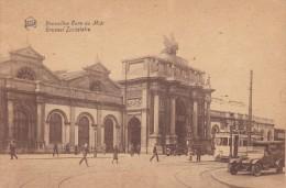 C P A-C P S M---BELGIQUE---BRUXELLES --gare Du Midi---voir 2 Scans - Spoorwegen, Stations
