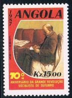 PT0190 Angola 1987 Lenin 0716 New Paintings 1 - Angola