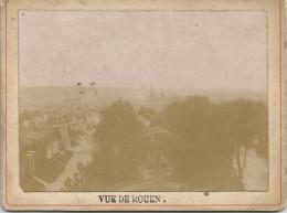 ROUEN - Vieille Photo Cartonnée Format  12.5 X 90.5 Mm - Photos