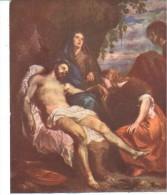 POSTAL    MUSEO DEL PRADO (MADRID)  Nº 1403  LA PIEDAD -VAN DYCK - Museos