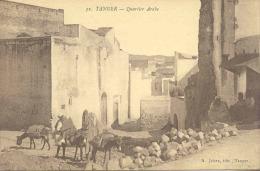 CPA - TANGER - QUARTIER ARABE - Tanger