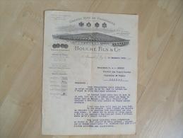 Ancienne Facture Illustree Les Goisses Mareuil Sur Ay Bouche Champagne 1905 - 1900 – 1949