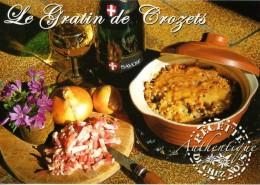 Recette - Le Gratin De Crozets Au Beaufort, Couteau Opinel - R 18 Bis - Editons SECA - TBE - Recipes (cooking)