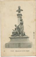 Emile Augier Poete Né A Valence Drome Mort A Croissy Senateur Academie Française Monument Place Odeon Detruit ( Metal ) - Croissy-sur-Seine