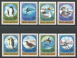 MONGOLIE 1980 N° 1059/1066 ** Neufs = MNH Superbes Cote 20 € Faune Oiseaux Birds Fauna Animaux Exploration Antarcti - Mongolia