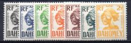 2/ Dahomey  : Taxe Entre N° 19 à 27  Neuf  XX  , Cote :  9,00 € , Disperse Trés Grosse Collection ! - Unused Stamps