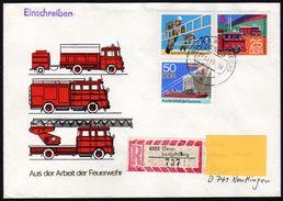 DDR 1977 - Feuerwehr, Fire Brigade - Reco Brief - Feuerwehr