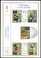 San MARINO 1970 - Walt Disney Figuren - MiNr.962-966 - Disney