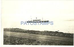 14191 ARGENTINA SHIP MONTE CERVANTES POSTAL  POSTCARD - Argentine
