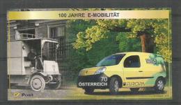 AUTRICHE. Camionnette Renault De La Poste Autrichienne (Europa 2013) Un T-p Auto-collant Neuf ** - Auto's