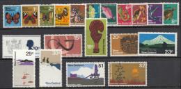 New Zealand Definitives 1970 Fifth Pictorials. Mi 517-534, 536-537 MNH - Neufs