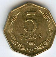 Chili Chile 5 Pesos 1998 KM 232 - Chili