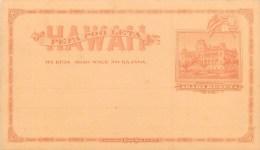HI - HAWAÏÏ - Cpa - Entier Postal Illustré - Carte En Très Bel état - Dos Vierge. - Etats-Unis