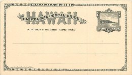 HI - HAWAÏÏ - Cpa - Entier Postal Illustré - 1881 -  Carte En Très Bel état - Dos Vierge. - Etats-Unis