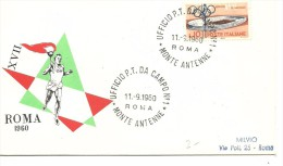 MAT. ITALIA - Zomer 1960: Rome