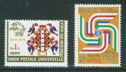 India // Inde // 1974 Timbres Neufs / Y & T 406-407** - Inde