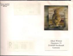 2008 Austria Österreich  RR-Brief  Venus Von Willendorf. - 2001-10 Brieven