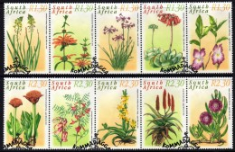 South Africa - 2000 Medicinal Plants Set (o) # SG 1182-1191, Mi 1262-1271