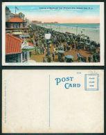 USA -  [OF #13120] - LOOKING UP BOARDWALK FROM MICHIGAN AVE.  ATLANTIC CITY NJ - - Atlantic City